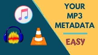 How To Add Metadata And Embedd Image In MP3 | EASY