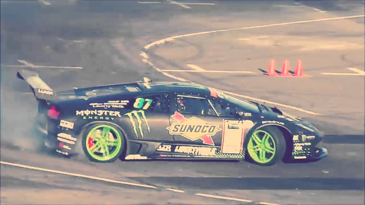 Monster Energy Lamborghini Murcielago Drift Car Daigo Saito Youtube