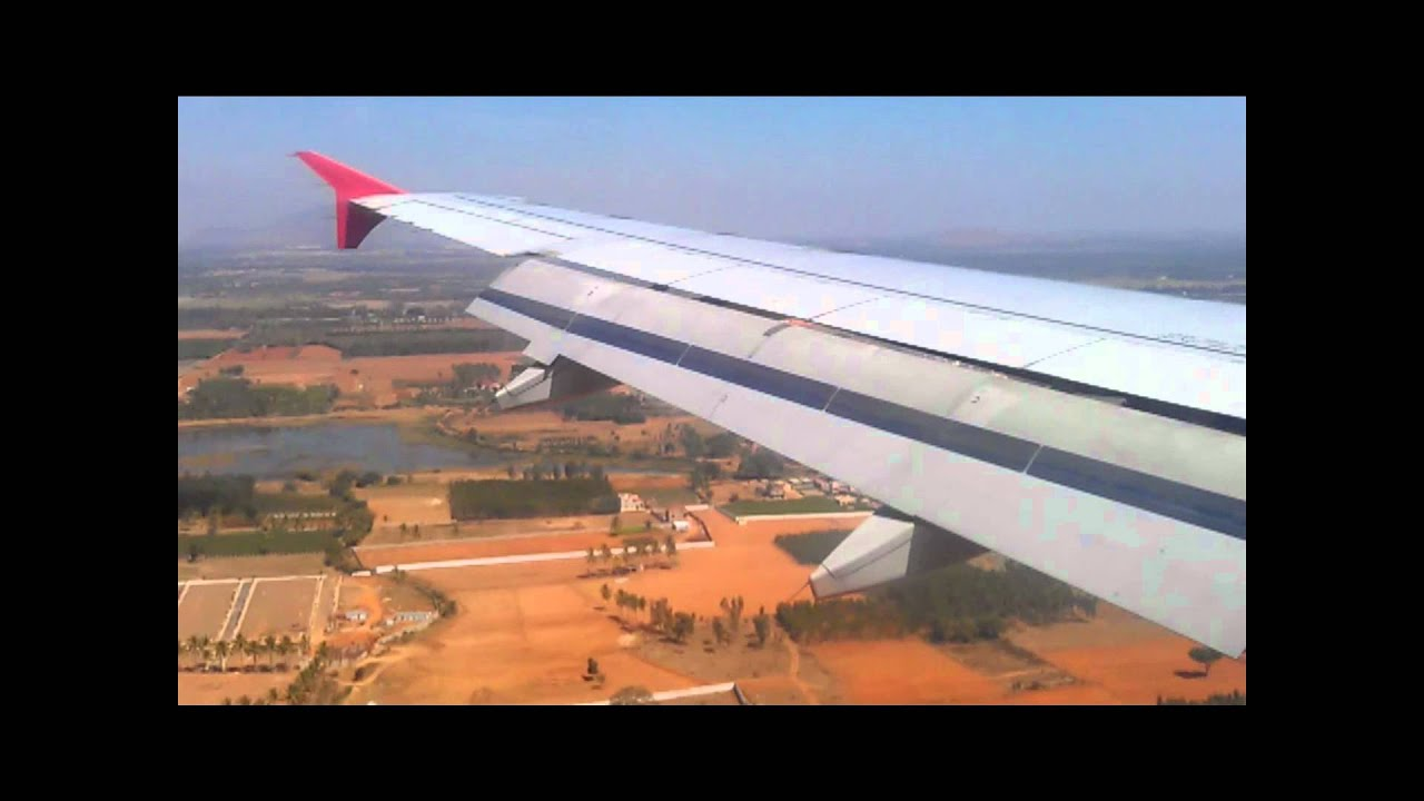 Takeoff At Mangalore Airport And Arrival Bangalore Kingfisher