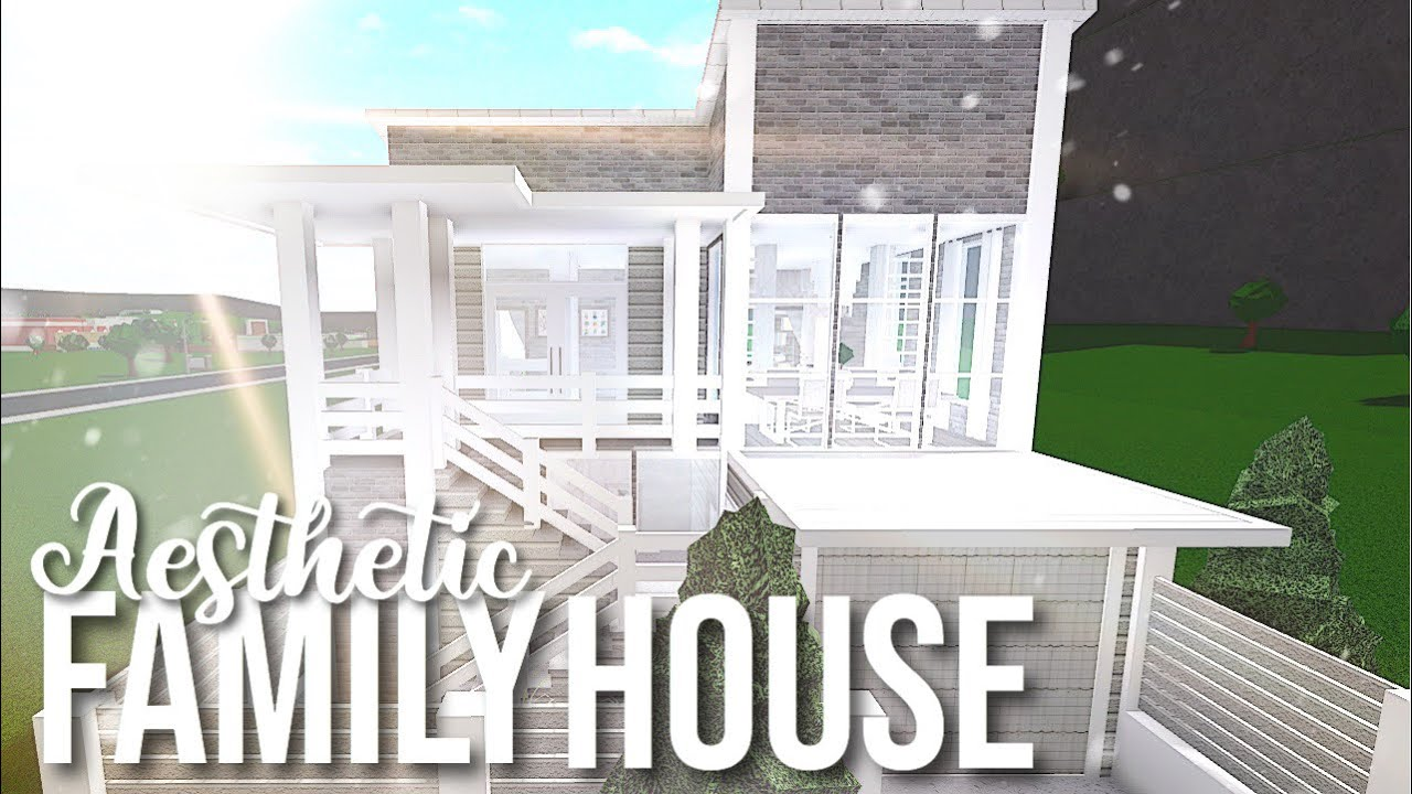 Bloxburg Aesthetic Family House Youtube