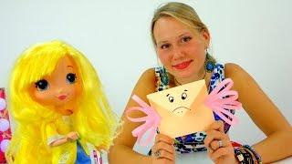 Поделки из бумаги! КОНВЕРТ-ПТИЧКА для Лимоши! Видео для детей!(Лимоша, написала письмо для своей мамочки и ей теперь нужно его отправить, но, как это сделать!? Позвоним..., 2015-10-06T08:06:07.000Z)