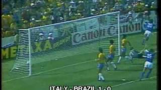 1982 WC Italy - Brazil  3:2(Goals scored * Paolo ROSSI (ITA) 5, * SOCRATES (BRA) 12, * Paolo ROSSI (ITA) 25, * FALCAO (BRA) 68, * Paolo ROSSI (ITA) 74., 2009-07-04T16:43:02.000Z)