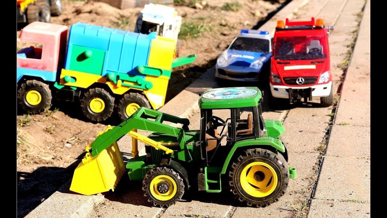 Traktor Kinderfilm Trecker Zeichentrick Traktor Spielzeuge Tractor