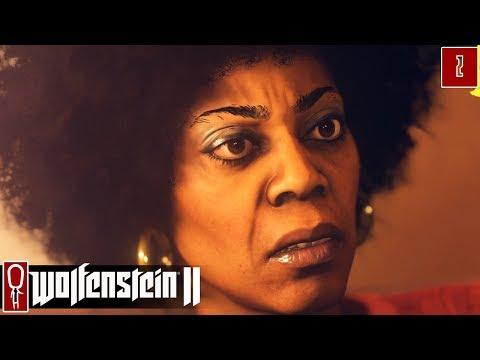 Let's Play Wolfenstein II - Part 2 - MANHATTAN - Gameplay Wolfenstein 2
