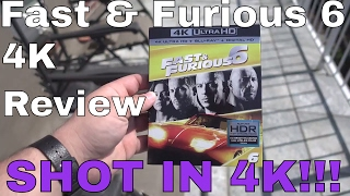 Fast & Furious 6 4K Review - SHOT IN 4K!!!