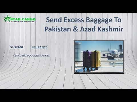 The Cheapest Excess Baggage Service to Pakistan from UK