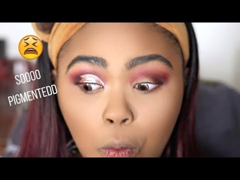 USING KBEAUTY TO DO WESTERN MAKEUP | KennieJD