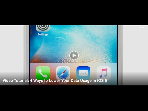4 Ways to Lower Data Usage on Your iPhone