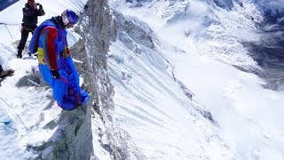 Highest BASE Jump in South America | Valery Rozov leaps from Huascarán in Peru