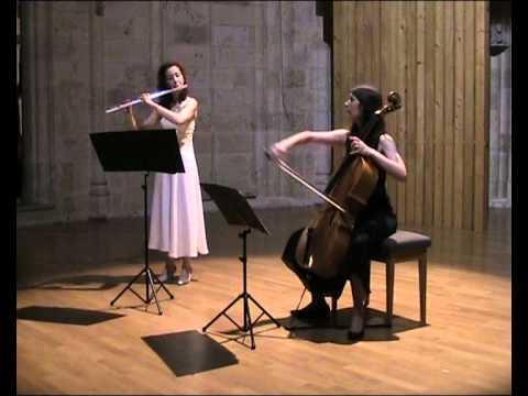 Marin Marais Les Folies d'Espagne pour flûte et vi...