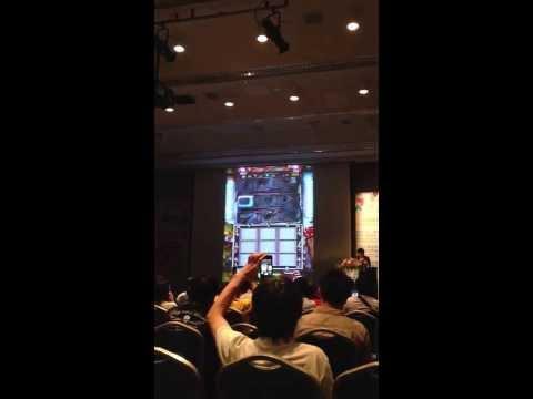 Digital Taipei 2013 - Neocyon Inc. CEO. 北村佳紀 - Slot shooting - 3D Monster Battle RPG