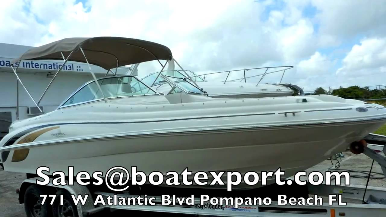 1999 Sea Ray 210 Sun Deck with 2007 Engine & Drive for Sale