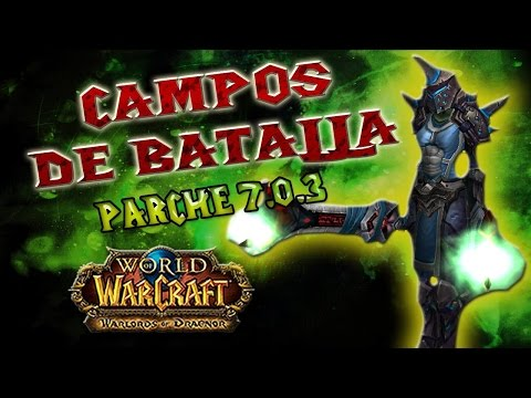 World of Warcraft | GUERRERO FURIA PvP 7.0.3 - ¿LE FALTA ALG