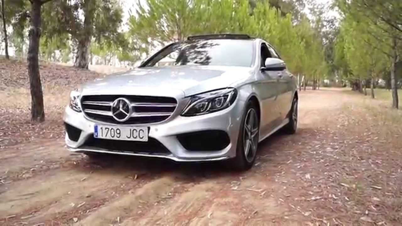 prueba mercedes clase c 220 cdi bluetec un vistazo youtube. Black Bedroom Furniture Sets. Home Design Ideas
