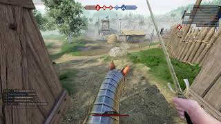 Mordhau Clip - How not to fight on horse back.