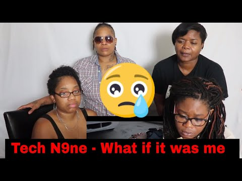 😥 Mom Reacts To Tech N9ne - What If It Was Me (ft. Krizz Kaliko) | Reaction Ft. J100, Aunt, And BB