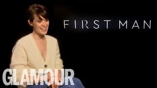 Claire Foy's Hilarious Reaction To Ryan Gosling's Best Memes  | GLAMOUR UK