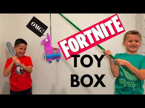 FORTNITE LLAMA DRAMA LOOT PIÑATA AND  OTHER FORTNITE TOYS UNBOXING 2019!