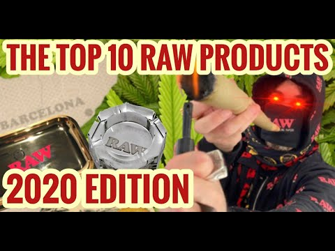 THE TOP 10 RAW PRODUCTS 2020 EDITION