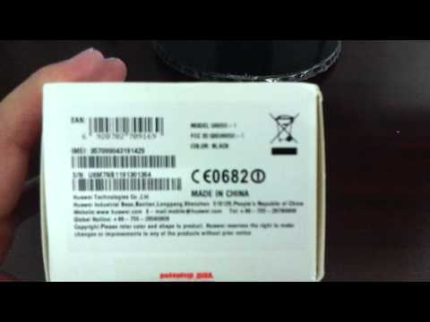 Huawei U8650 SONIC Unboxing Video - Phone in Stock at www.welectronics.com