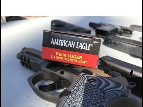 9x19mm, 124gr FMJ, American Eagle (AE9AP)