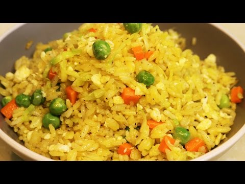How to make PERFECT EGG FRIED RICE! - Easy Egg Fried Rice Recipe