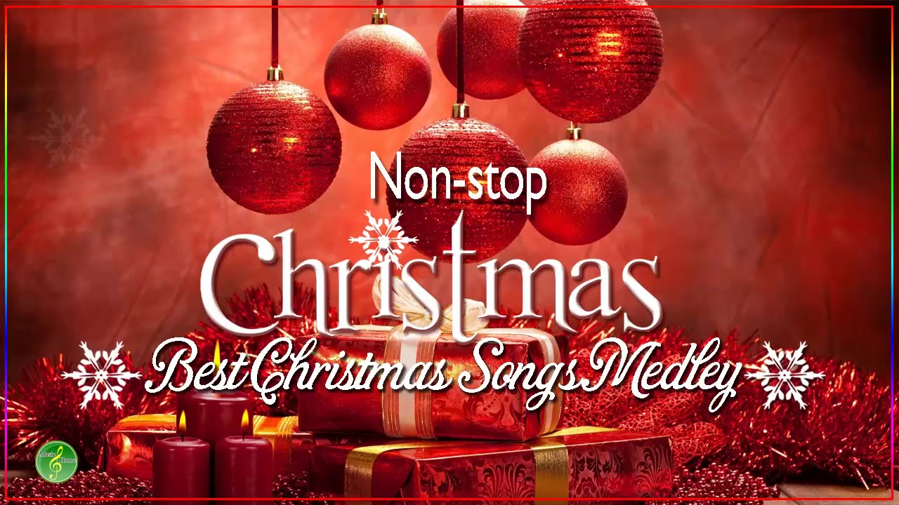 The Best Christmas Songs Medley Non Stop - Merry Christmas 2019 ...