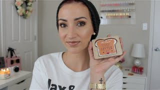 Chit Chat GRWM-Too Faced Peanut Butter & Jelly Palette!!