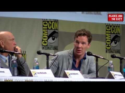 Dreamworks Comic Con 2014 Panel - Benedict Cumberbatch, John Malcovich & Jim Parsons