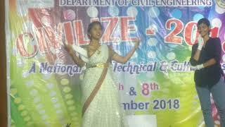 Tribute to Mahanati Savithri || winning dance || Choreography Teja_rajulapati