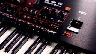 Korg Pa4X Arranger Workstation Keyboard Demo with Steve McNally