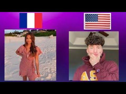 🔴TIK TOK - FRANCE VS USA COMPILATION #1