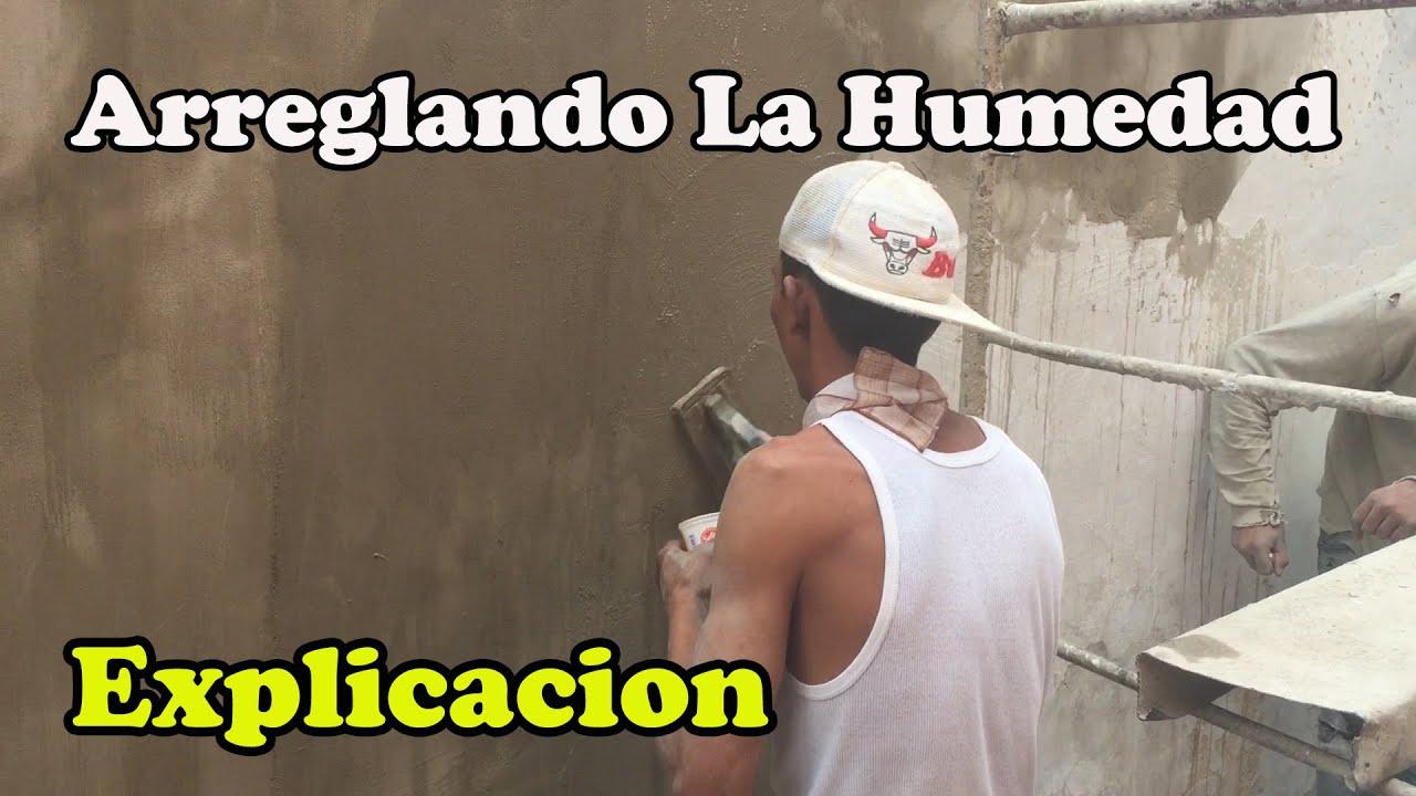 Como quitar de ra z la humedad de las paredes youtube - Como quitar la humedad de la pared ...
