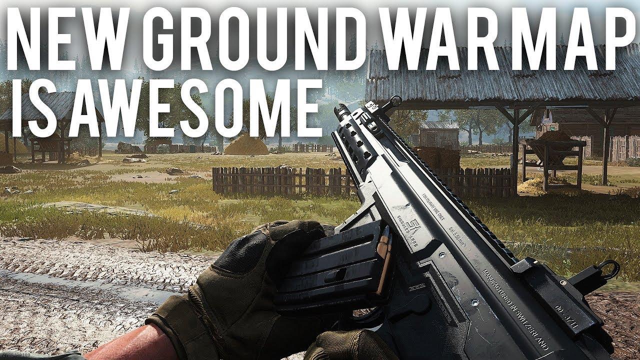 Modern Warfare New Ground War mapa é impressionante + vídeo