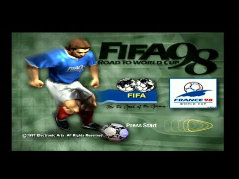 Fifa 98 Road To The World Cup - Intro & Gameplay - PS1