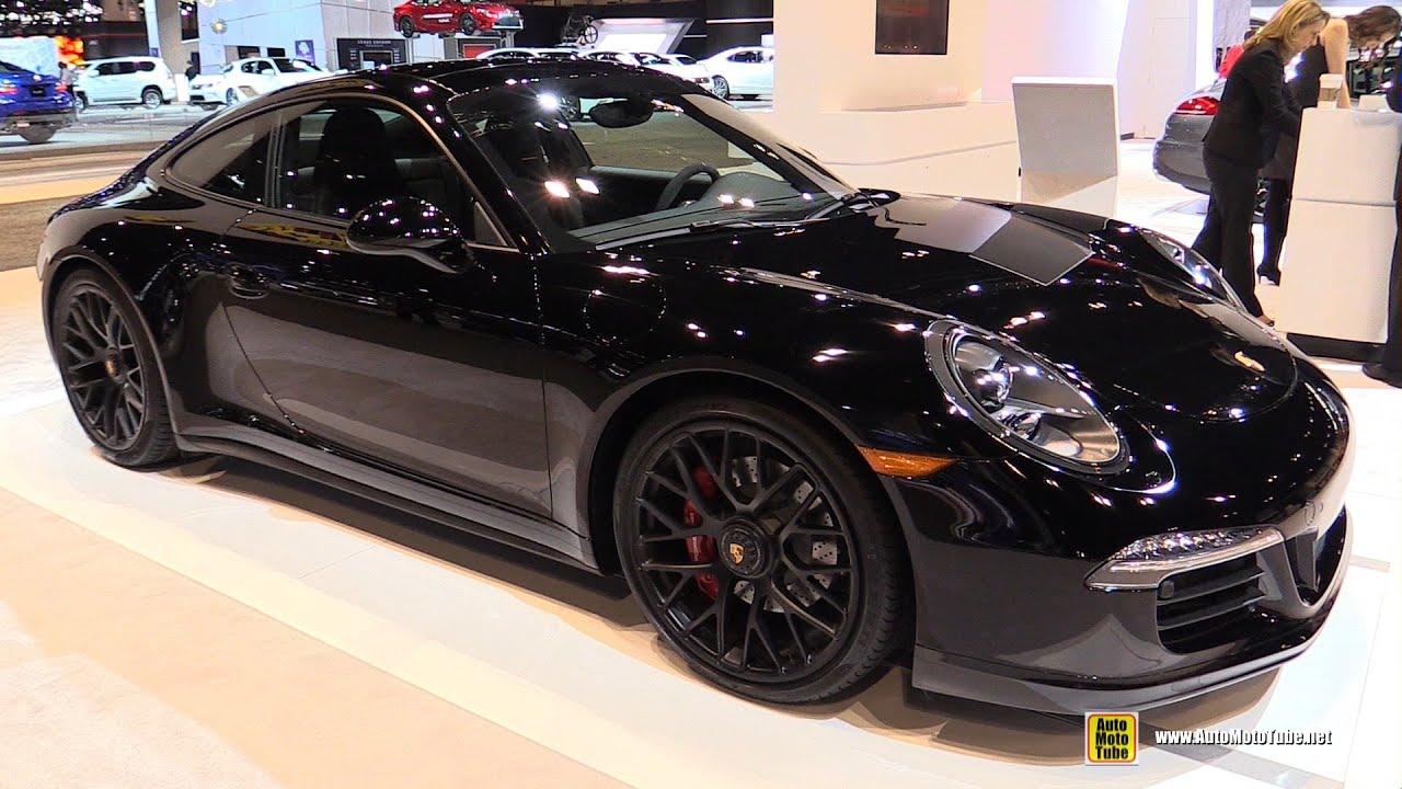porsche 2015 interior. 2015 porsche 911 carrera gts exterior and interior walkaround chicago auto show youtube