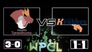 Wpcl Week 4: St. Louis Krabbys (1-1) Vs Houston Tyrantrum(3-0) thumbnail