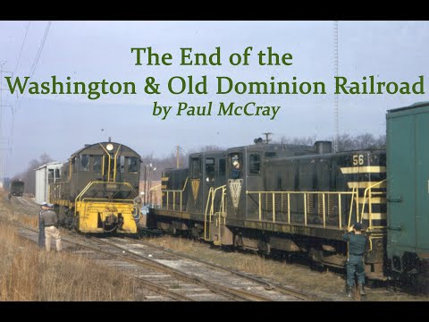 The End of the W&OD Railroad