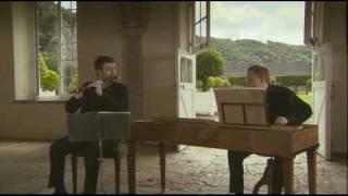 Sonate BWV 1020 premier mouvement, first mouvement