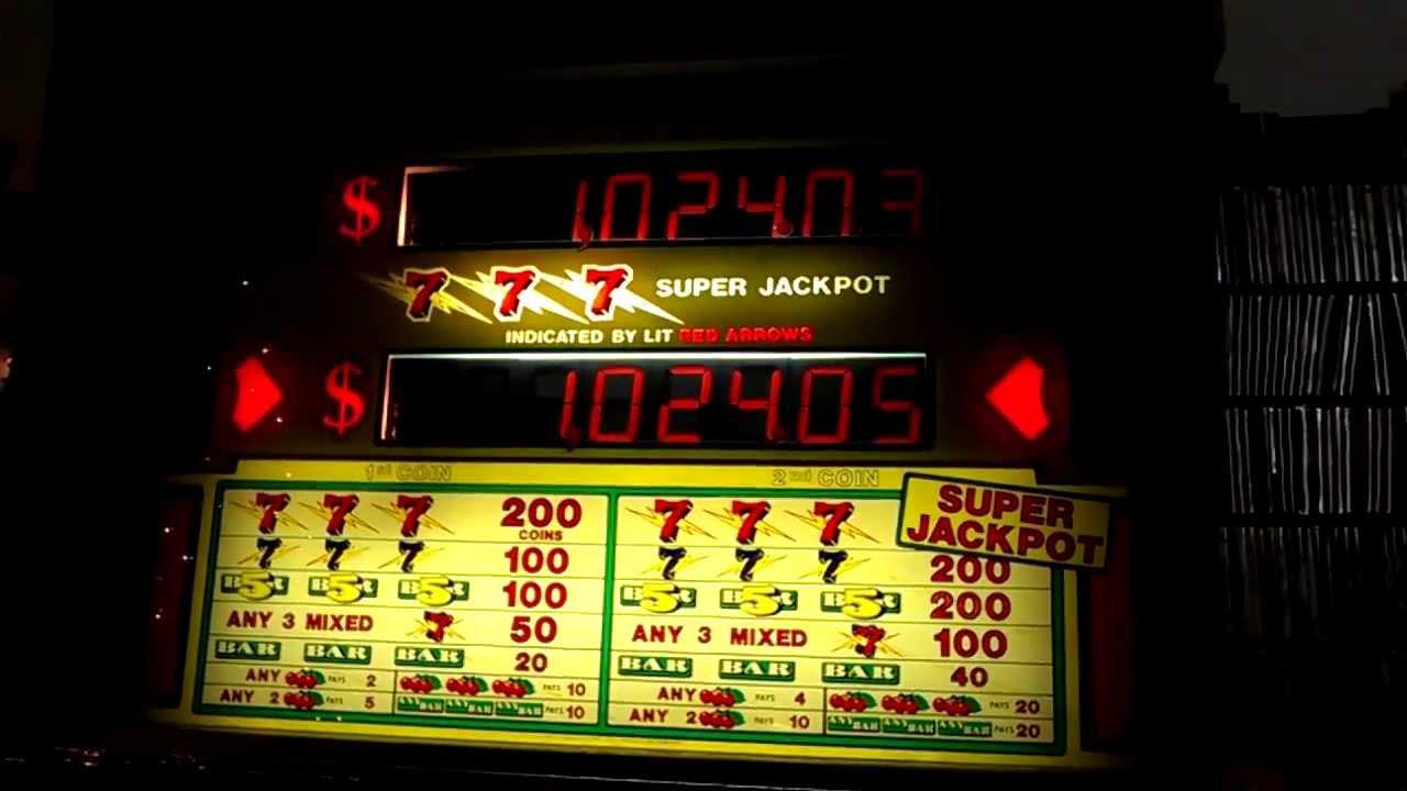 Slot Machine Progressive Jackpot