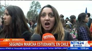 Estudiantes de diversas universidades en Chile se movilizan para exigir una educación no sexista