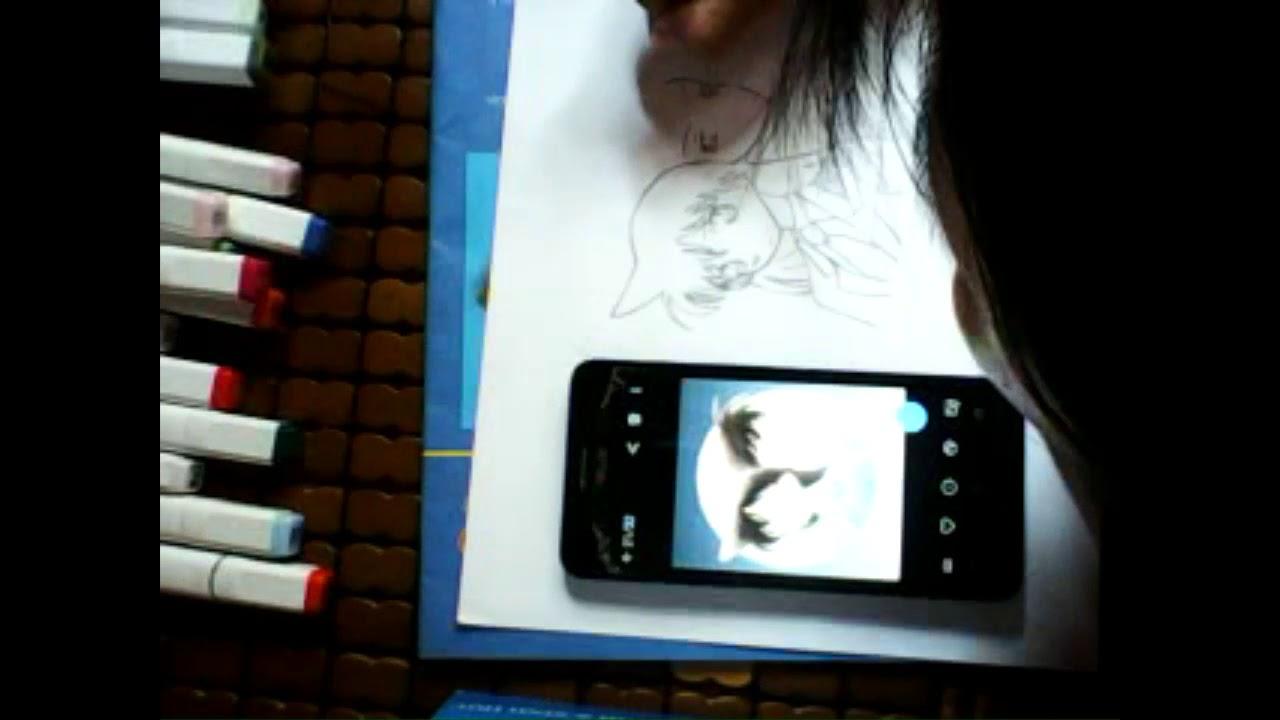 – Vẽ Shinichi and Ran_tranh vẽ anime [ Thị mon ] 💞