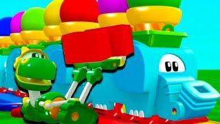 Animal Mechanicals Full Episodes | Episode 111: The Elephant Train
