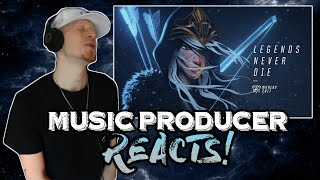 Music Producer Reacts to Legends Never Die (ft. Against The Current) | League of Legends