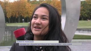 Rencontre insolite : une championne de karaté dans les Yvelines