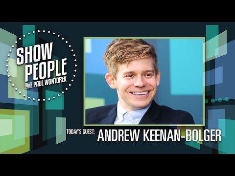 Celia and Andrew Keenan-Bolger Spill Family Secrets & C... | Doovi