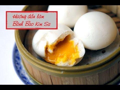 Hướng Dẫn Làm Bánh Bao Kim Sa (Nhân Trứng Muối) Đơn GIản Dễ Làm Tại Nhà – HOÀ CHEF