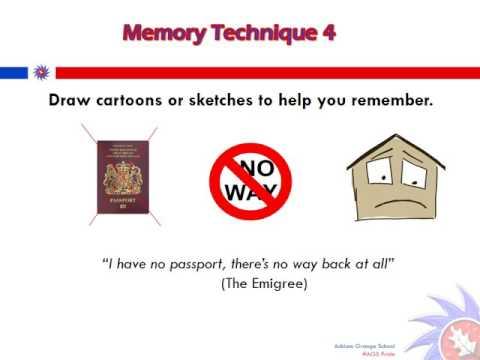 AGS Success Memory Techniques