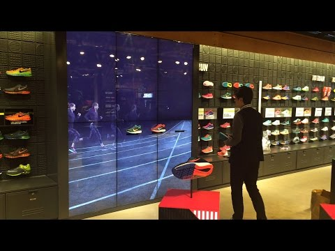 Interactive Media Marketing - Nike Flagship Store Digital Media