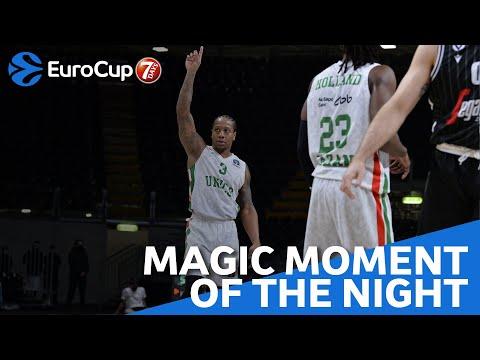 7DAYS Magic Moment of the Night: Isaiah Canaan, UNICS Kazan